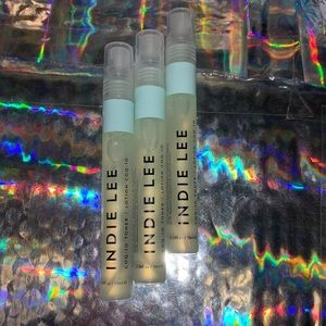 3x 10mL Indie Lee COQ-10 Toner / Essence Mist